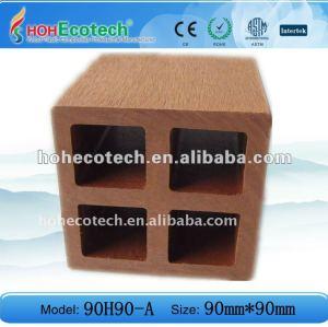 wpc Decking - hohler Bodenbelag/zusammengesetzte Plattform-/Fußbodenfliese
