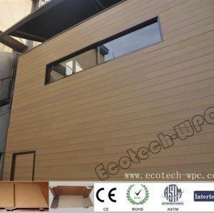 модный деревянный пластичный составной сайдинг панели