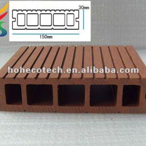 Wood dock/floating decks/hollow plastic dock decking