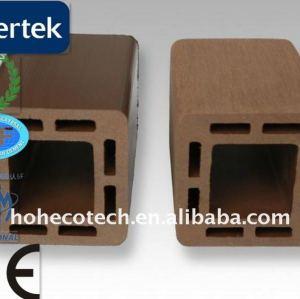 Pfosten-wpc Baumaterial/umweltfreundlicher hölzerner zusammengesetzter Plastikdecking/Fußboden Decking
