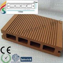 ( naturale sensazione di eccellente qualità e sicurezza ) piano decking composito ponte wpc piattaforma composita