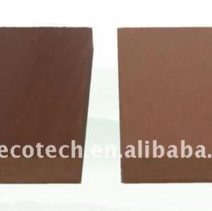 70*10mm wpc compuesto plástico de madera decking/suelo ( ce, rohs, astm, iso 9001, iso 14001, intertek ) wpc barandilla de madera