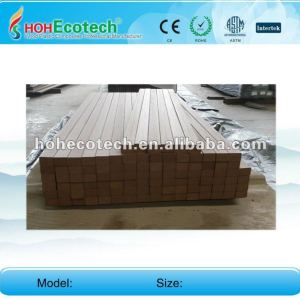 Grooved anti-UV water-proof wpc composite decking board (CE ROHS)