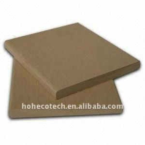 90*10mm 7 colors to choose WPC wood plastic composite decking/flooring floor board (CE, ROHS, ASTM)wpc decking floor
