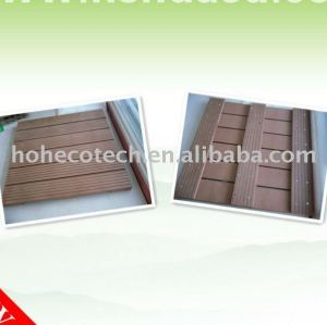 ecotech wpc composite DIY decking tile, CE, ROHS, ISO9001,ISO14001)
