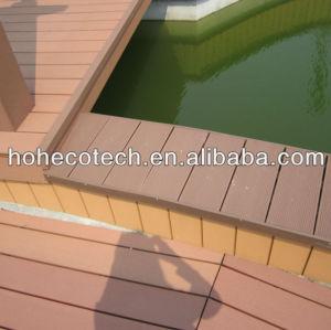 wpc terrace flooring composite decking/flooring board (CE, ROHS, ASTM,ISO9001,ISO14001, Intertek,European REACH )