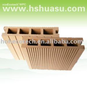 Economici legno decking, pavimento di plastica, wpc piano decking composito piano