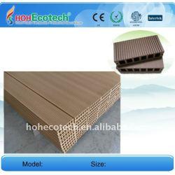 WPCの木製のプラスチック合成のdeckingまたはフロアーリング149*34mmのwpcの床板のwpcのdeckingの床