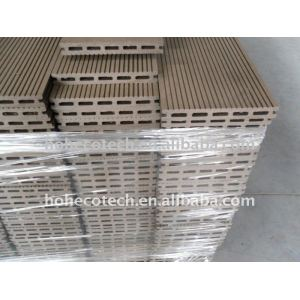 wood like Composite Decking, CE,ASTM,ISO9001,ISO14001approved
