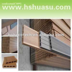 plancher composé en plastique en bois extérieur de decking/wpc/CE/Intertek/Reach/RoHS