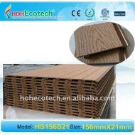 木製のプラスチック合成物はクラッディング優雅なWPCの装飾の形成証拠moisture-proof WPCの壁パネルを囲む