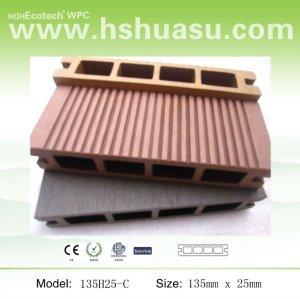 Plate-forme extérieure composée de HDPE