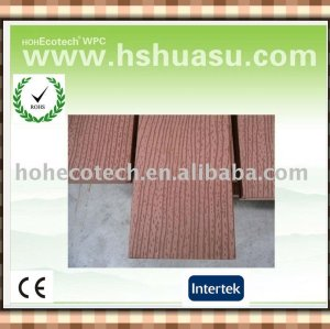 New nice wood grain outdoor wood composite flooring (CE ROHS ASTM ISO9001)