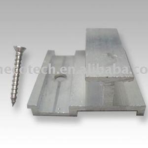 Hot vender wpc clip de alumínio