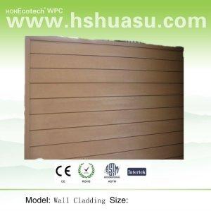 madeira reciclada pisosde plástico placa