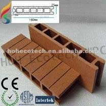 160*25mm hueco wpc piso al aire libre( alta calidad), terrazas al aire libre