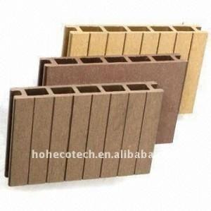 Panneau composé de decking de /Decking/flooring de bois de charpente en plastique EN BOIS (CE, ROHS, ASTM, ISO9001, ISO14001, Intertek)