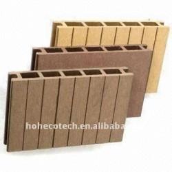 木製のプラスチック製材/Decking/flooringの合成のdecking板(セリウム、ROHS、ASTM、ISO9001、ISO14001、Intertek)