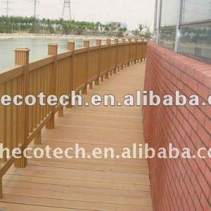 wood-plastic composite bridge railing