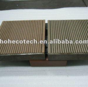 Decking del wpc accesorries tapa de extremo compuesto de madera y madera decking del wpc/wpc suelo compuesto