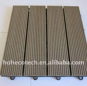 Legno/pavimenti in bambù composito/impermeabile decking di wpc piastrelle