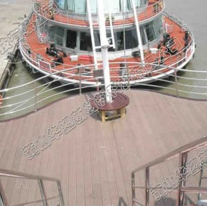 elegante e bello decking di wpc