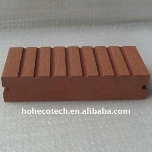 Verzieren Sie künstliches Holz - Wpc Baumaterial