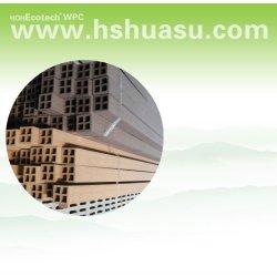 wpcの木製のプラスチック合成物fencing/.railingのポスト