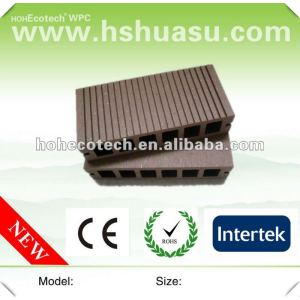 wpc top quality water resistance anti-UV hollow flooring board