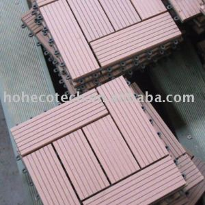 Interlocking deck tile--WPC-ROHS