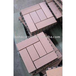 Interlocking deck tile--WPC-ROHS