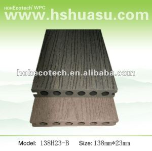Anti-corrosion WPC embossing boardwalk decking(CE/ISO9001/ISO14001/SGS/ASTM)