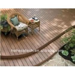 屋外のフロアーリングの装飾! WPCはDecking板wpcの木製のプラスチック合成のdeckingかフロアーリングを防水する