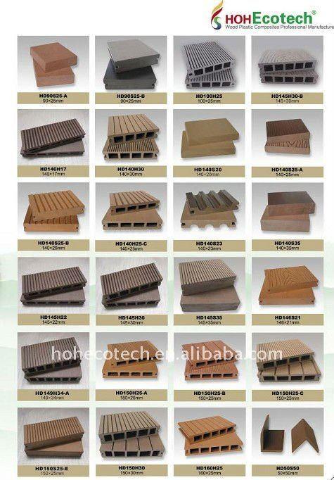 verschiedenen deck
