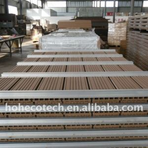 160x25mm wpc esgrima/cerca bordo wpc compuesto plástico de madera decking/suelo decking del wpc