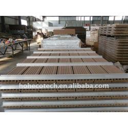 /fence板WPC木製のプラスチック合成のdeckingを囲うか、またはwpcのdeckingに床を張る160x25mmのwpc