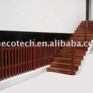 Bande de roulement d'escalier de Huasu/clôture--WPC