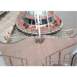 waterproof floating floor,marina deck walkways,pontoon floor,floating wood deck