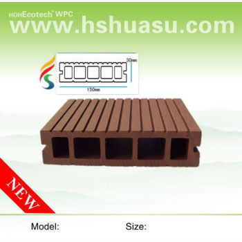 100% recycle composite decking 150S30