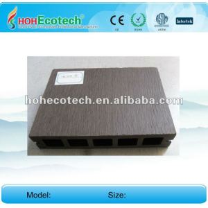 Anti-UV water-proof wood plastic composite outdoor decking board (CE ROHS)