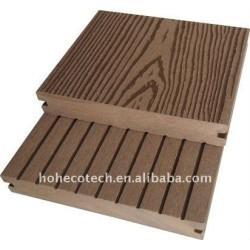 溝がある表面WPCのdeckingは木製のプラスチック合成のフロアーリングをタイルを張る
