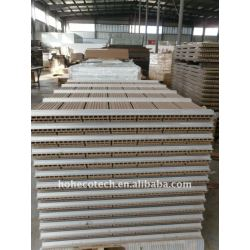 WPCの/fence板wpcのdeckingを囲う木製のプラスチック合成のdeckingかフロアーリング160x25mmのwpc