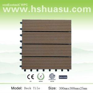 Con base in plastica - color legno vinile piastrelle ponte