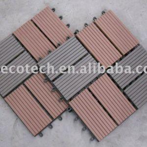 Piastrelle del pavimento di wpc diy/decking piastrelle