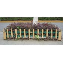 囲うか、または柵で囲むか、またはポストWPCの木製のプラスチック合成物
