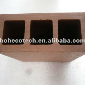 100% reciclado wpc de alta qualidade ao ar livre pós trilhos ( wpc pisos/ painel de parede wpc/ wpc produtos de lazer )