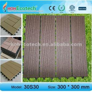 Meubles en bois en plastique extérieurs de couleur foncée - matériaux de WPC