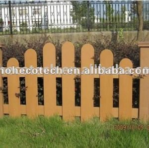 Natural wood looking WPC wood plastic composite fencing/railing/post