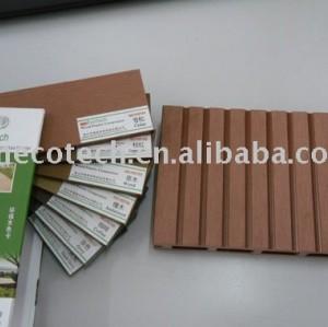Decking composé de bois de construction de WPC (ISO9001, ISO14001, ROHS, CE approuvé)