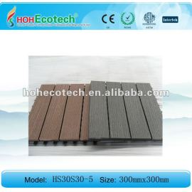 Anti-slip WPC Decking tiles/bathroom tiles